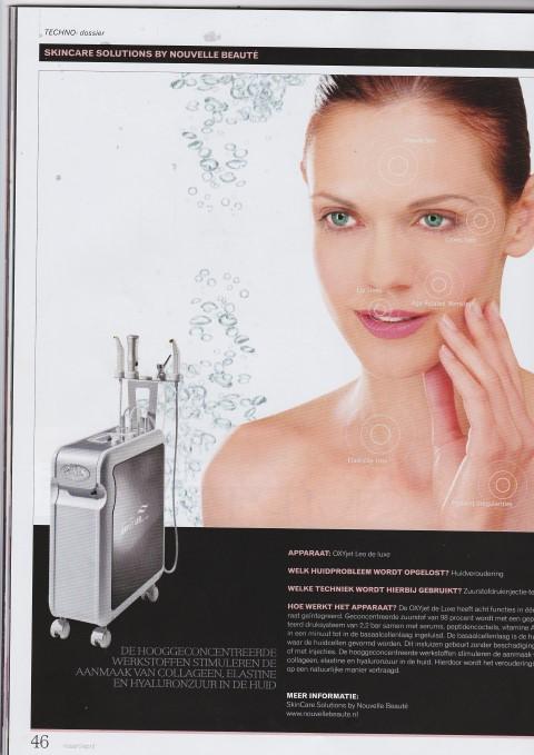 Kosmetiek Technodossier Nora Bode OXYjet